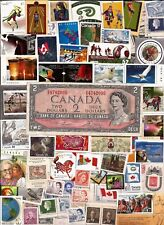 vintage MINT FULL GUM CANADA Canadian postage stamps lot C339 MNH + 1954 note