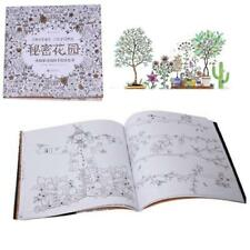 Secret Garden An Inky Treasure Hunt and Coloring Book by Johanna Basford Q