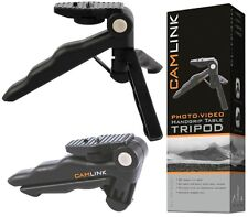 NEW CAMLINK TP-300 LIGHTWEIGHT HANDGRIP 160MM TABLE TRIPOD WITH NON-SKID FEET