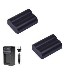 2x Extra Battery for EN-EL15 and Charger Nikon D810 D7100 D7200