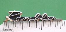 RAMBLER script - hat pin , tie tac , lapel pin , hatpin ( GIFT BOXED )