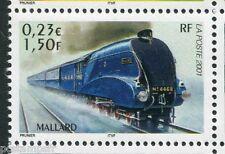 FRANCE 2001, timbre 3411, TRAIN LOCOMOTIVE MALLARD, neuf**, VF MNH STAMP