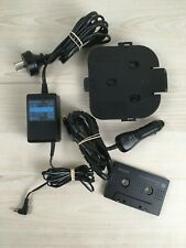 Selection of Sony CD Walkman Accessories, Car Mount, Connecting Pack, AC Adaptor