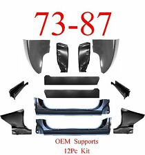 OEM 73 87 Chevy 12Pc Cab Repair Kit, X-Rocker, Giant Cab Corner, Footwell, Inner