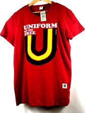 G-Star Raw Mens Graphic T-Shirt Uniform Of The Free Size XL Organic Cotton $50