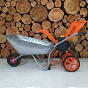 Garden Electric Compact Wood chipper  Shredder Well balance powerful 2800W 4HP