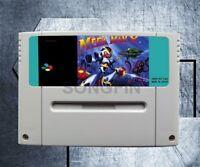 Mega Man X Megaman X Juego Super Nintendo SNES 16 BIT