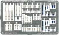 Eduard 1/72 Seatbelts RAF Q type PRE-PAINTED IN COLOUR! # 73006