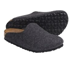 *NEW* AMSTERDAM 41 N EU {10-10.5 US WOMEN} WOMEN'S CLOGS BLACK FELT BIRKENSTOCK