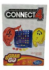 NEW! Hasbro ~ Connect 4 Grab And Go ~ Travel Size Game Age 6+ Kids 2 Players