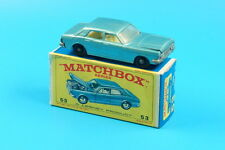 Matchbox 1:75  No.53 Ford Zodiac MK IV mit Original Box (G233)