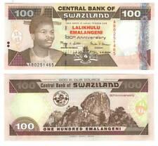 UNC CONDITION 5RW 22MAY SWAZILAND 100 EMALANGENI 2008  P 34