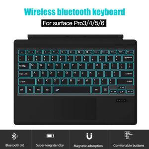 Wireless Keyboard Portable Waterproof Magnetic Bluetooth Keypad for Surface pro