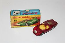 Matchbox Superfast No 45 Ford Group 6 Diecast Vehicle In Original Box
