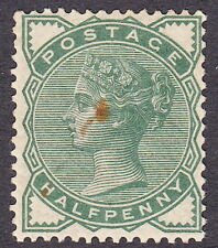 SG164 ½d  Deep Green. surface printed Mounted Mint
