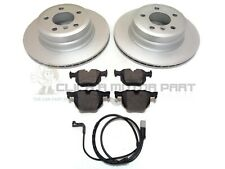 48 E70 OEM SPEC FRONT DISCS AND PADS 348mm FOR BMW X5 4.8 2007-10