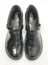Womens Size 8 BORN b.o.c Black Loafer Slip-On/In Style Fashion Shoes