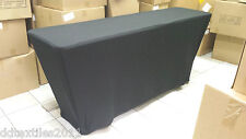 6' Classroom spandex buffet table covers,wedding,event,DJ,craft/tradeshows,party
