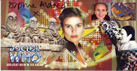 "Doctor Who ""Greatest Show In The Galaxy"" Stamp Cover - Signed by SOPHIE ALDRED"