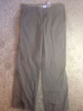 "COLUMBIA~OLIVE Green Casual Mens Cotton PANTS ""Omni Shield"" Size 34x32 Ked"