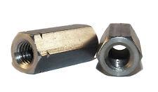 Edelstahl Gewindemuffen sechskant Langmuttern M6 - M20 A2 V2A VA 5 mm Abstufung