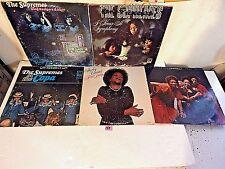 #148 Lot 5 LP-Shirley Caersar-The Staples-Supremes at the Copa,I Hear A Symphony