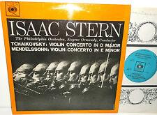 CBS BPRG 72083 Tchaikovsky & Mendelssohn Violin Concertos Isaac Stern / Ormandy