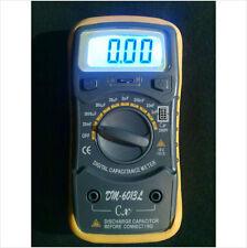 Capacitor / Capacitance / Elco / Elko tester meter. DM-6013L. Gift suggestion
