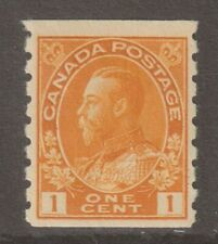 """Canada 1923 #126 King George V """"Admiral"""" Coil Stamp F MH"""