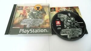 Armored Core 1 Game For Sony Playstation 1 PS1 World Post! 1997 Retro Rare
