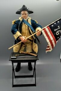 "GI JOE Classic Collection General George Washington 12"" Action Figure W/Box"