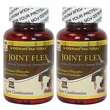 2 x Glucosamine+Chondroitin+MSM+Collagen II+Boswellia Joint Flex Formula 240 CT