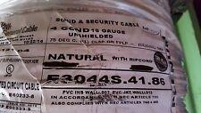 Carol E3044S 16/4C UnShielded Plenum Media/Communication/Control Cable NAT/100ft