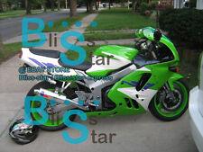 Green ABS Fairing Kit Fit Kawasaki Ninja ZX9R ZX-9R 1995 1996 1994-1997 07 A4