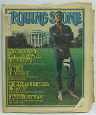 Jack Ford ROLLING STONE MAGAZINE Issue #218 Alfred Hitchcock July 29 1976 RARE!