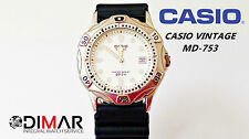 VINTAGE CASIO MD-753 QW.708 JAPAN WR.200 Ø.37mm