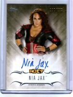 WWE Nia Jax 2016 Topps Undisputed On Card Autograph SN 112 of 299