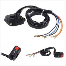 """12V ABS 22mm 7/8"""" Motorcycle ATV LED Handlebar Headlight Lamp Horn Switch On Off"""