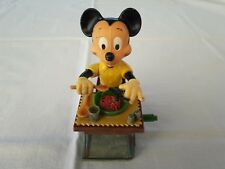 Vintage Wind Up Type Toy - Disney 60's - Mickey eating Spaghetti - Très Rare