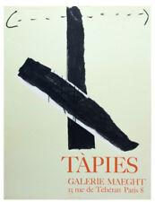 ANTONI TAPIES Galerie Maeght Paris 1967  LITHO Spanish Artist