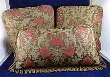 Walter E. Smithe Drexel Heritage Custom Made Throw Pillows & Bolster