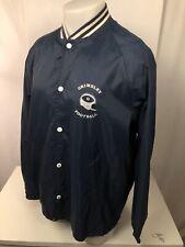 GRIMSLEY FOOTBALL - Vintage Navy Blue High School Mens Lg. Jacket