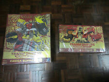 TRANSFORMERS PLATINIUM EDITION OMEGA SUPREME & OPTIMUS PRIME SUPERLINK ENERGON