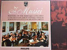 Philips SBAL 31 Masters Baroque Concertos 1964 I Musici 4Lp Box