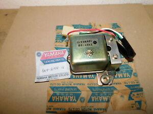 NOS OEM Voltage Regulator Assembly Yamaha 1969 AT1, AT2 AT3 CT1B, 74 75 76 DT125