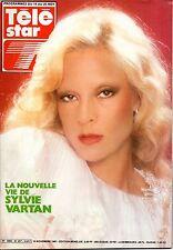 TELE STAR 1981: SYLVIE VARTAN_GEORGES BRASSENS_CLAUDINE AUGER_CHANTAL GOYA