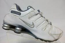 NIKE Shox NZ White Sz 8.5 Women Running Shoes