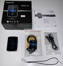 Garmin Edge 520 GPS Bike Cycle Computer. Bluetooth ANT+, Boxed with New Mount.