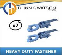 Heavy Duty Over Center Fastener x2 (Lock Latch handle) Trailer Tray Truck (K210)