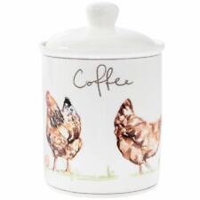 Busy Bee Leonardo Collection Porcelaine Fine Thé Cuisine Cartouche de régénération Jarre